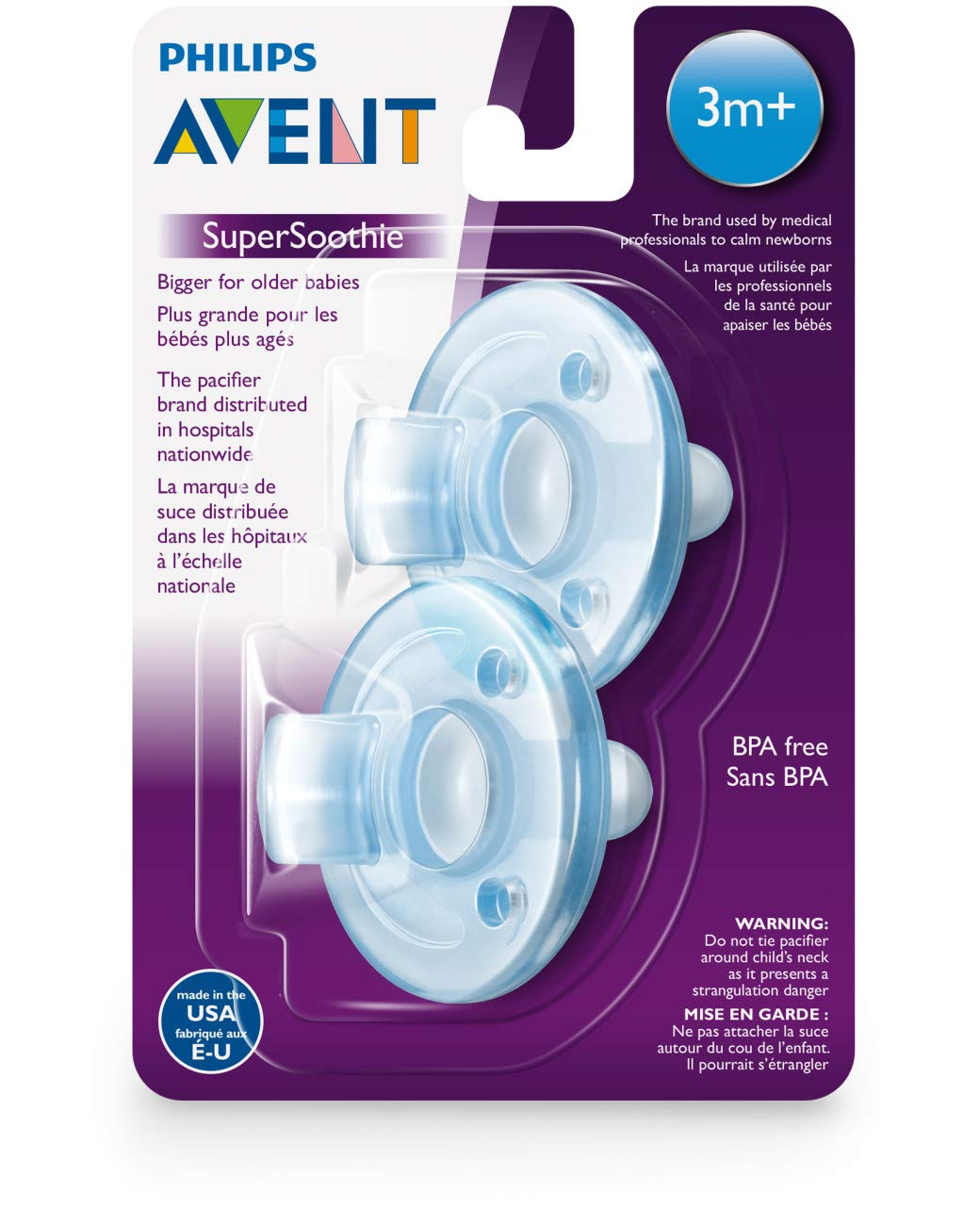 Amazon.com: Philips Avent - Chupete: Baby