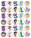 Dora The Explorer Cupcake Toppers Edible Wafer Paper BUY 2 GET 3RD FREE!