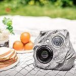 Waterproof Bluetooth Rock Speaker - Solar - Powered Outdoor Wireless Speaker
