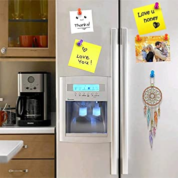 Amazon.com: Push Pin Magnets, Whiteboard Magnets, Andrew 64 ...
