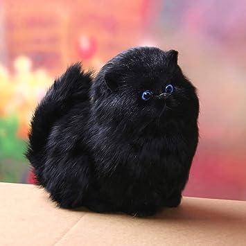 Amazon.es: 5 Colores Mascotas Gatos Muñecas Electrónicas Simulación Animal Toy Cat Meowth Niños Lindo Mascota Modelo de Juguete de Felpa Adornos de Regalo ...