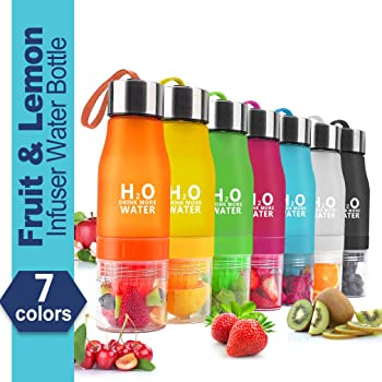 HANTAJANSS H2O Fruit Infused Water Bottle