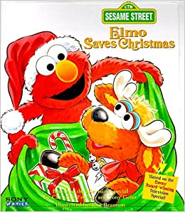 elmo saves christmas sesame street golden books 9780307477040 amazoncom books - Sesame Street Elmo Saves Christmas