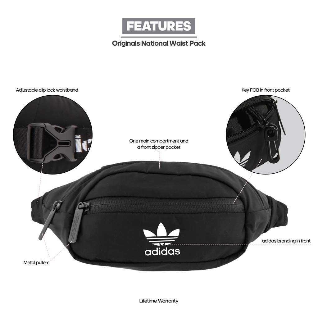 0b324772b7 Amazon.com   adidas Originals National Waist Pack