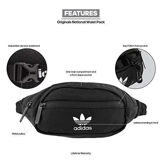 e563cdfafd Amazon.com   adidas Originals National Waist Pack