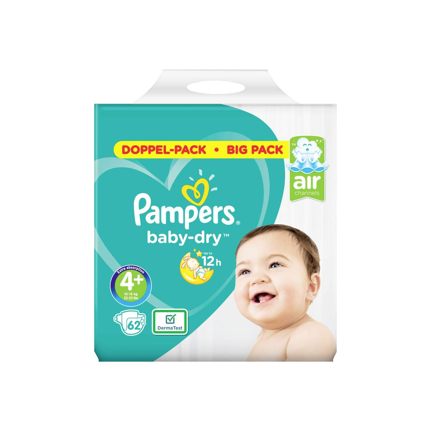 144 St/ück 4 Pampers Baby Dry Windeln 7-8 kg