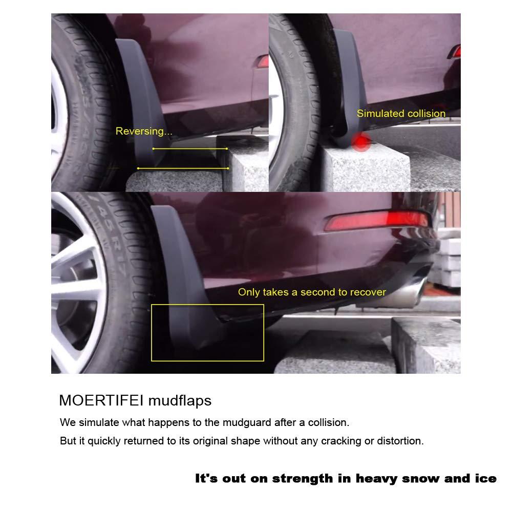 MOERTIFEI Car Mudguard Fender Mud Flaps Splash Guards fit for Buick Regal 2011-2017 12 13 14 15 16
