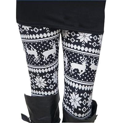 Leggings , Boomboom Fashion Women Elasticity Skinny Tribal Printed Leggings