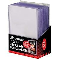 "Ultra Pro 3"" X 4"" Regular Toploader"