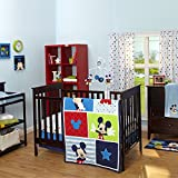 Cheap Baby Cribs Disney Mickey Mouse 3 Piece Crib Bedding Set