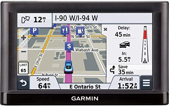 """Garmin nuvi 55LMT GPS Navigation System with Lifetime Maps and Traffic 5/"""""""