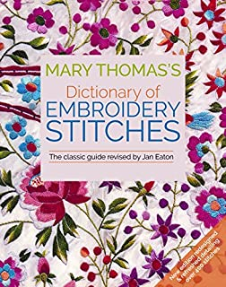 Book Cover: Mary Thomas's Dictionary of Embroidery Stitches