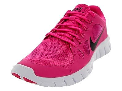... womens running shoes black volt hyper pink 0e8e5 e5c59 real nike free  5.0 gs girls running shoes size us 5.5 regular width 28ee9 12a95 ... 42664b3c8