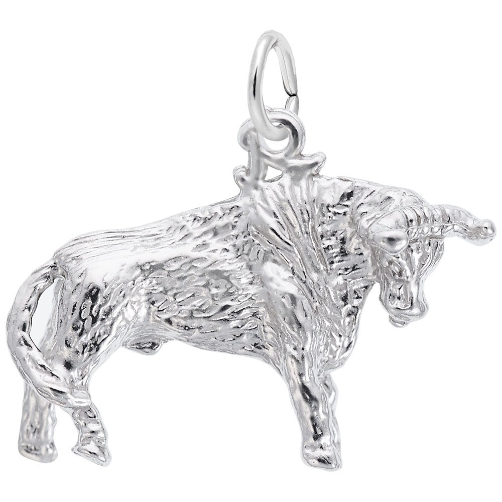 Bull Charm Charms for Bracelets and Necklaces