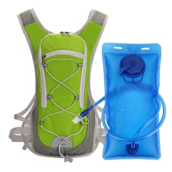 Mochila de hidratación Bloomma Sport, mochila de agua con vejiga de agua 2L perfecta para correr ciclismo de montaña escalada: Amazon.es: Bricolaje y ...
