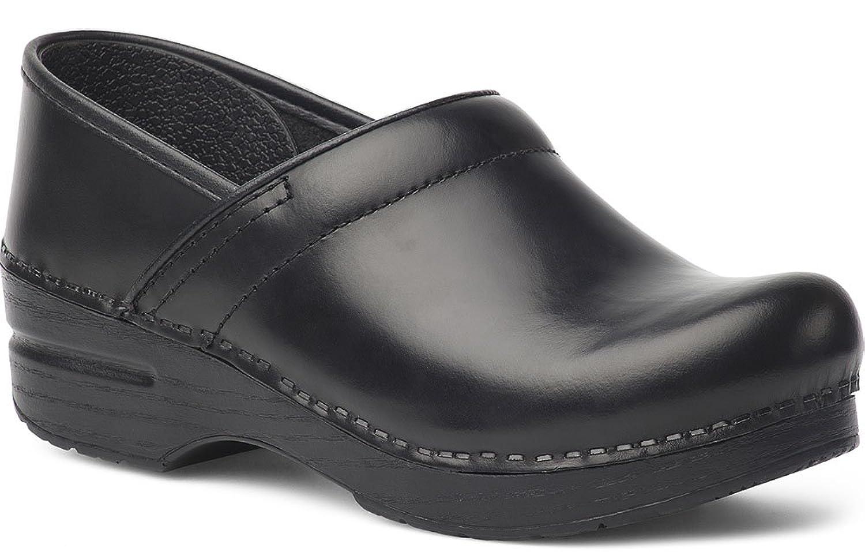Dansko Womens Clogs & Mules Professional Black Cabrio, Size-47