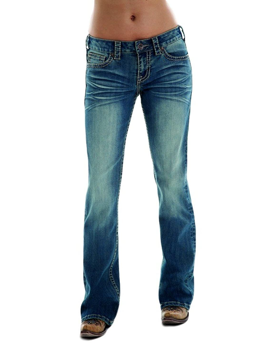 Cowgirl Tuff Co. Womens Med Golden Aztec Jean