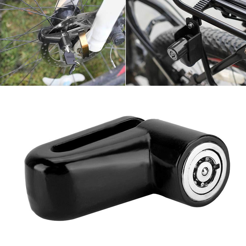 Motorcycle Bike Anti-theft Security Brake Disc Wheel Rotor Lock W// 2 Keys Kit C