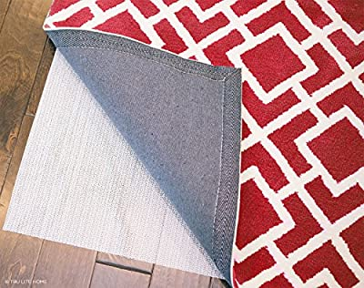 Non Slip Mat for Area Rugs - Indoor Rug Pad - Non-Slip Washable Area Rug Pad - Use on all Floors to Prevent Injury - Trim to fit any Size