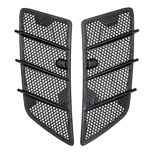 KIPA Hood Air Vent Grille Cover for Mercedes W164 ML450 ML350 ML320 ML63AMG GL320 GL350 GL450 GL550 ML63AMG Class 2008-2011 Left Right (1 Pair), New Durable Replacement, OE 1648804405 1648804305