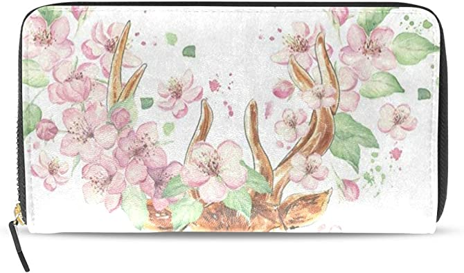Novelty Coin Purse Colorful Petals Roses 3D Graphic Printing Multi-Functional Small Wallet