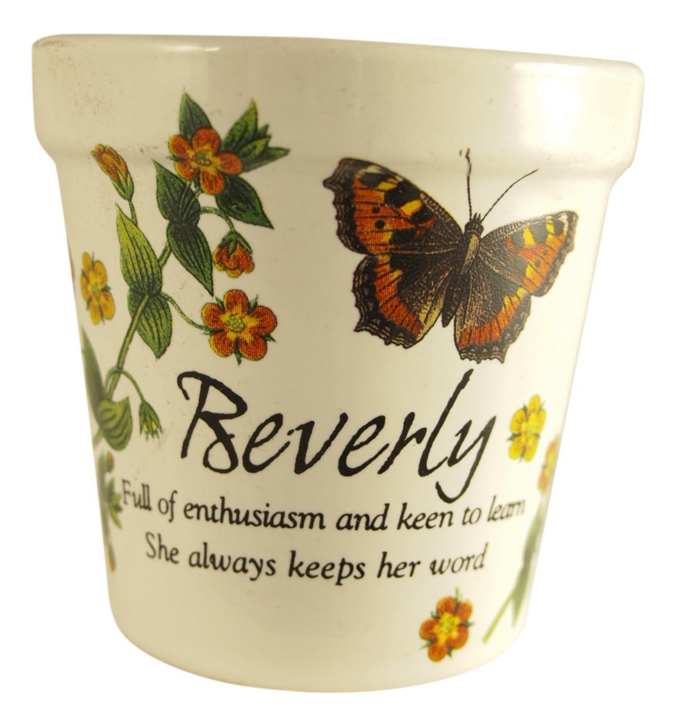 Personlaized Candle Pots PCP Beverly