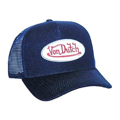 1cfaddacafd90 Von Dutch Originals Unisex-Adult Trucker Hat One Size Navy at Amazon ...