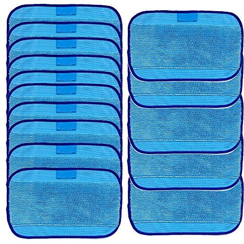 Highly Recommended! Londony 15 Wet Mopping Cloths for iRobot Braava 380 380t 320 Mint 4200 4205