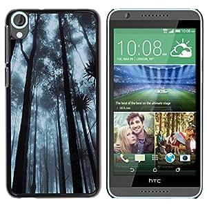 Be Good Phone Accessory // Dura Cáscara cubierta Protectora Caso Carcasa Funda de Protección para HTC Desire 820 // Plant Nature Forrest Flower 92