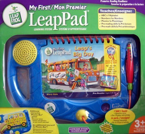 First Leappad System Learning - Leap Frog - My First Leap Pad Learning System