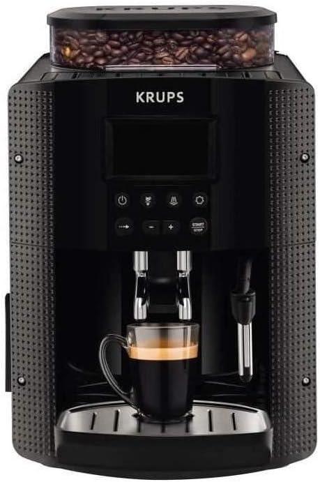 Krups YY8135FD Independiente Totalmente automática Máquina espresso 1.6L Negro - Cafetera (Independiente, Máquina espresso, 1,6 L, Molinillo integrado, 1450 W, Negro): Amazon.es: Hogar