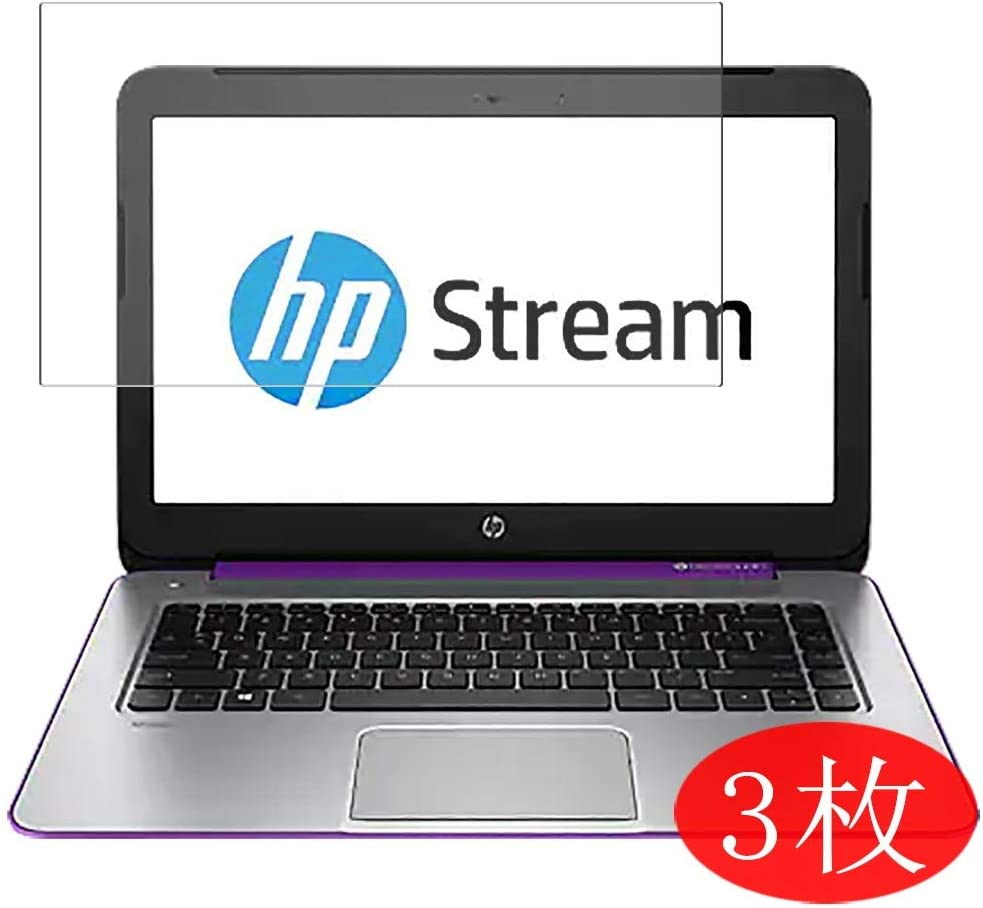 """【3 Pack】 Synvy Screen Protector for HP Stream 13-c000 / c028tu / c029tu / c002dx / c010nr / c077nr / c002tu / c020nr / c010nr / c020na 13.3"""" Film Protectors [Not Tempered Glass]"""
