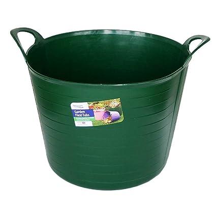 40 L Green Stewart Garden Flexi Tub 40 L - Dark Green