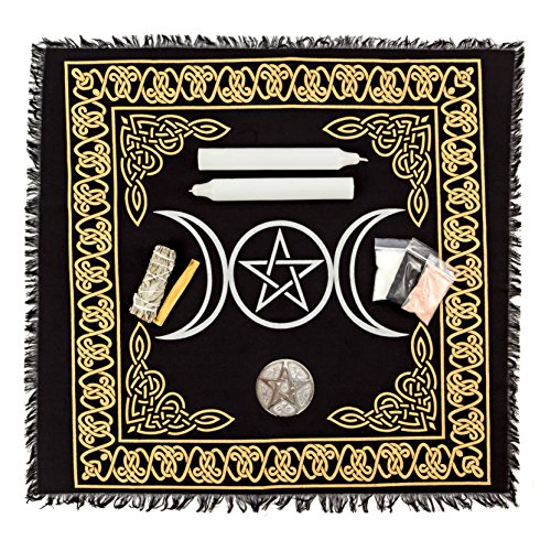 Triple Goddess Altar (Alternative Imagination Wiccan Altar Supply Kit, (Standard))