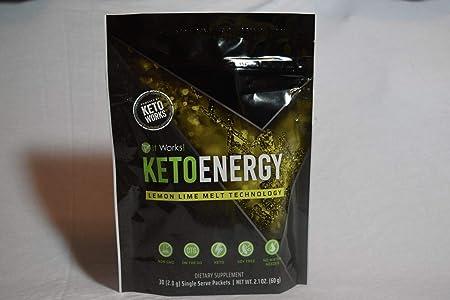itWorks KETOENERGY Lemon Lime Melt Technology