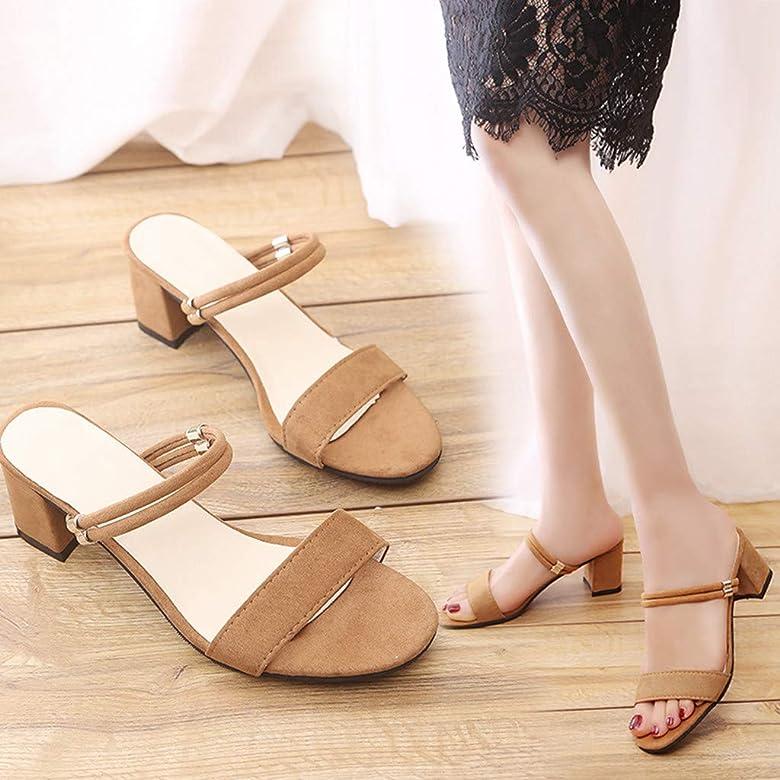 GNYD Sandalias Correctoras Juanetes Mujer Verano Planas Moda Romanas,Nueva Zapatilla De Zapatos De TacóN Alto Pure Colorsquare