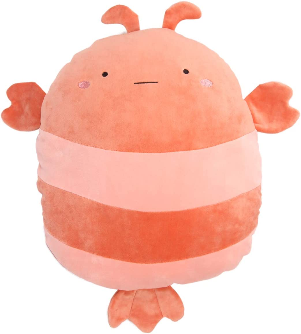 Soft Lobster Plush Hugging Pillow Cute Stuffed Animal Toy Kids Gifts for Birthday, Valentine, Christmas