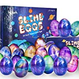 heytech 24 PCS Egg Slime Easter Eggs Colorful