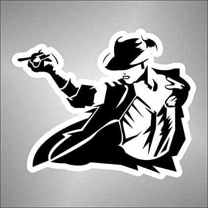 Aufkleber Sticker Michael Jackson Hip Hop Rap Jazz Hard Rock Metal Pop Funk Sticker
