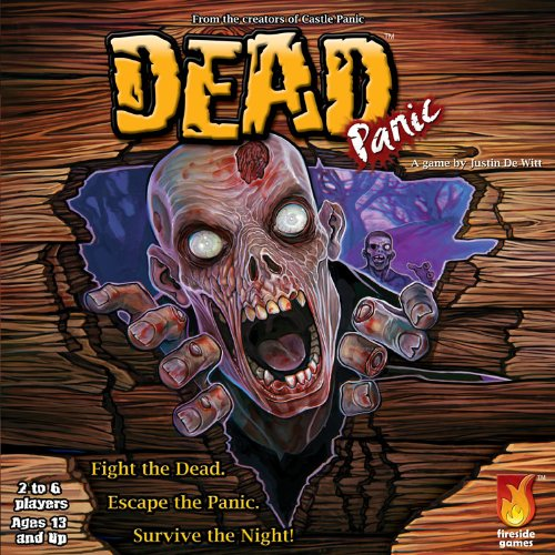 Game Halloween Zombie Massacre (Fireside Games Dead Panic - board games for families - board games for kids 7 and)