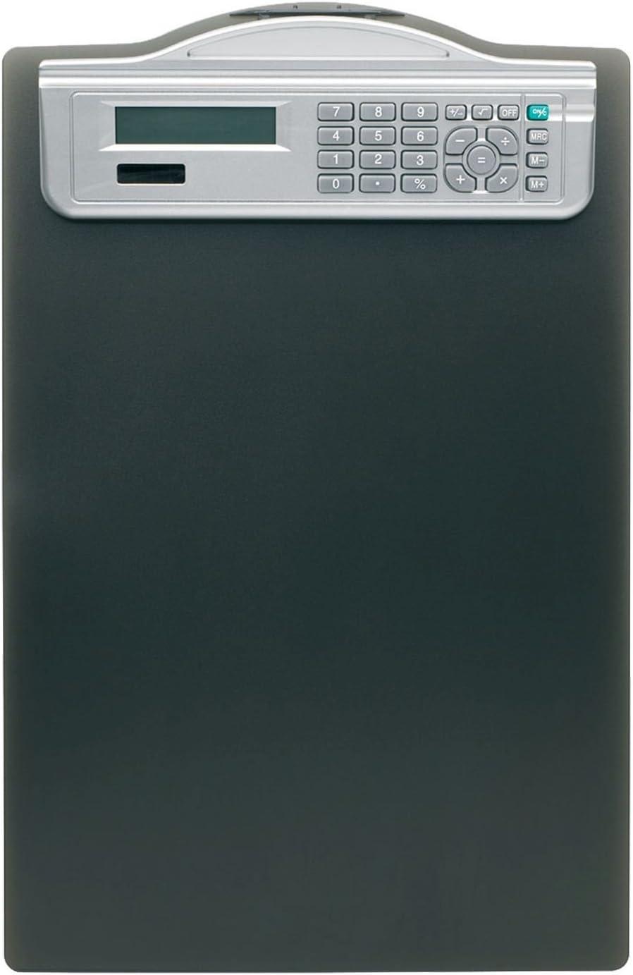 6er Sparpack Alco-Albert 5518-11 Klemmbrett mit Solarrechner 6 Ma/ßeinteilung schwarz DIN A4