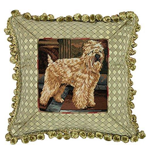 Wheaten Terrier Needlepoint - 1