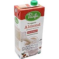 Pacific Foods Bebida de Almendra Orgánica sin Endulzar, 946 ml