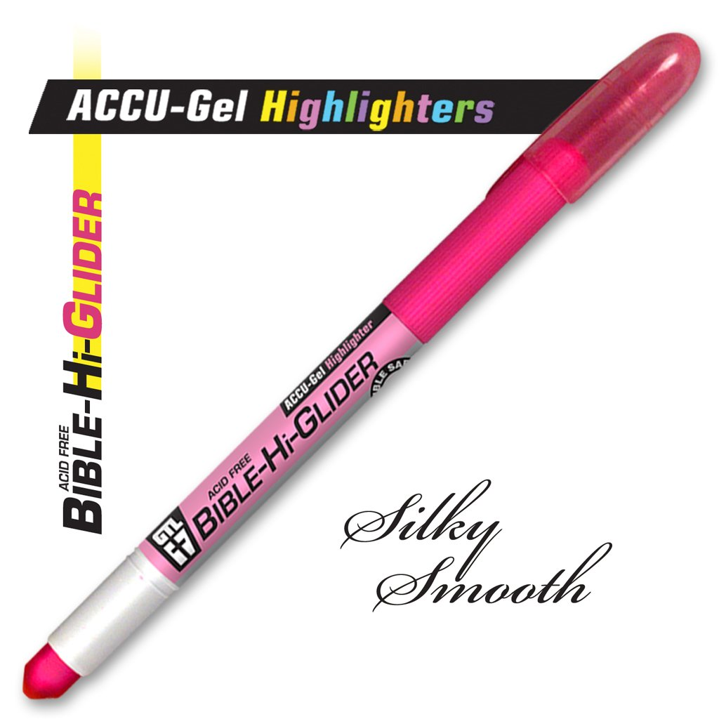 Accu-Gel Bible Highlighter Study Kit (Set of 6) - 4 Sets by G.T. Luscombe Company, Inc. (Image #6)