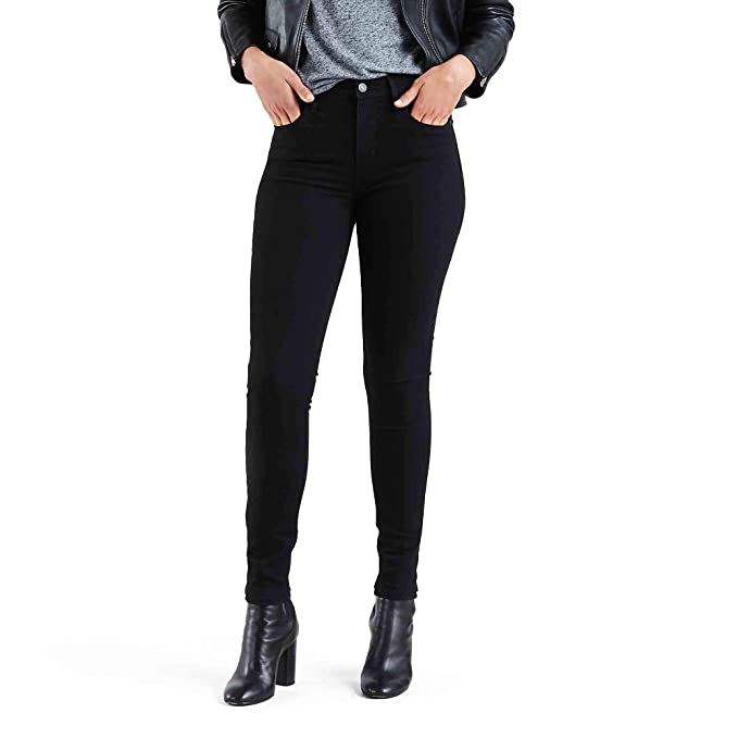 Levis Womens 721 High Rise Skinny Jeans