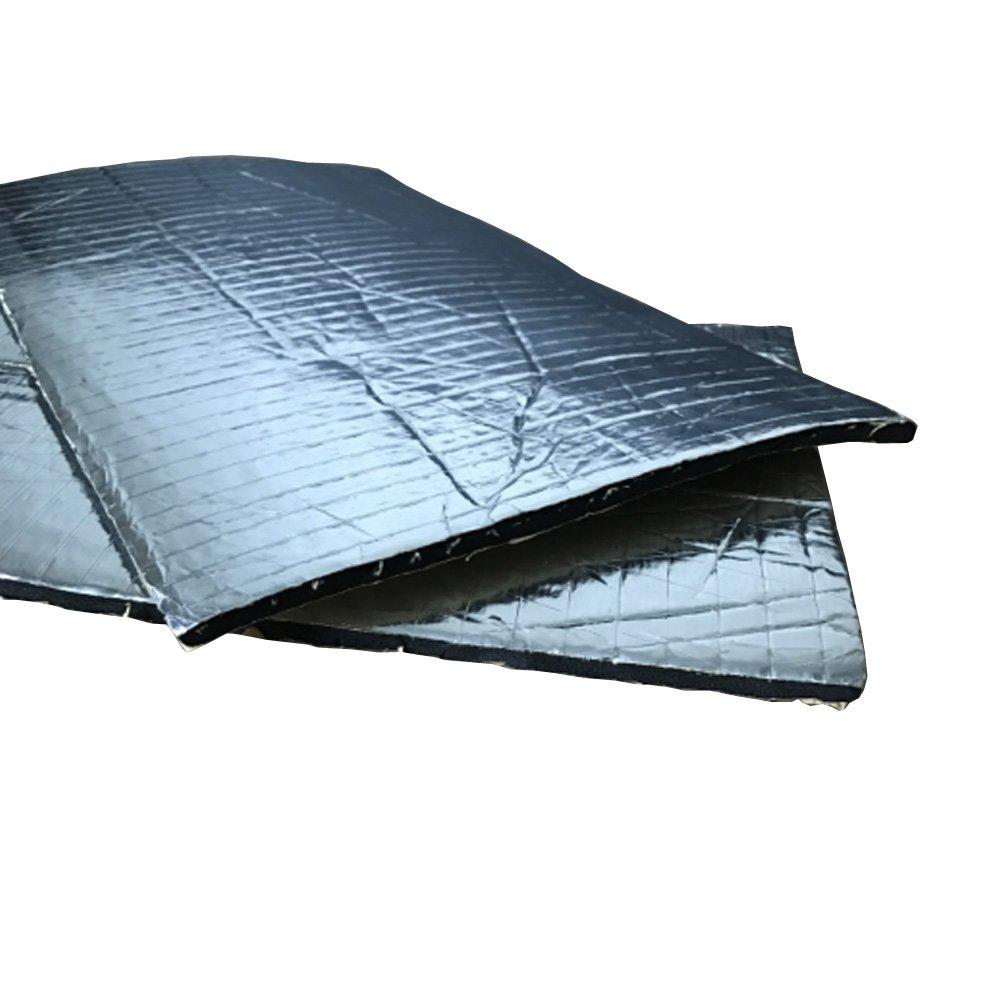 Mintice 12 X veicolo auto insonorizzazione isolamento fonoassorbente chiuso Antirombo Antivibrante Fibra di vetro 10MM 30cm X 50cm