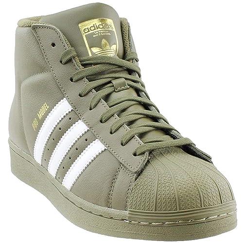 adidas Men's Pro Model Sneakers,OliveCargo