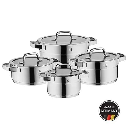 WMF Compact Cuisine - Batería de cocina (4 piezas, con tapa ...