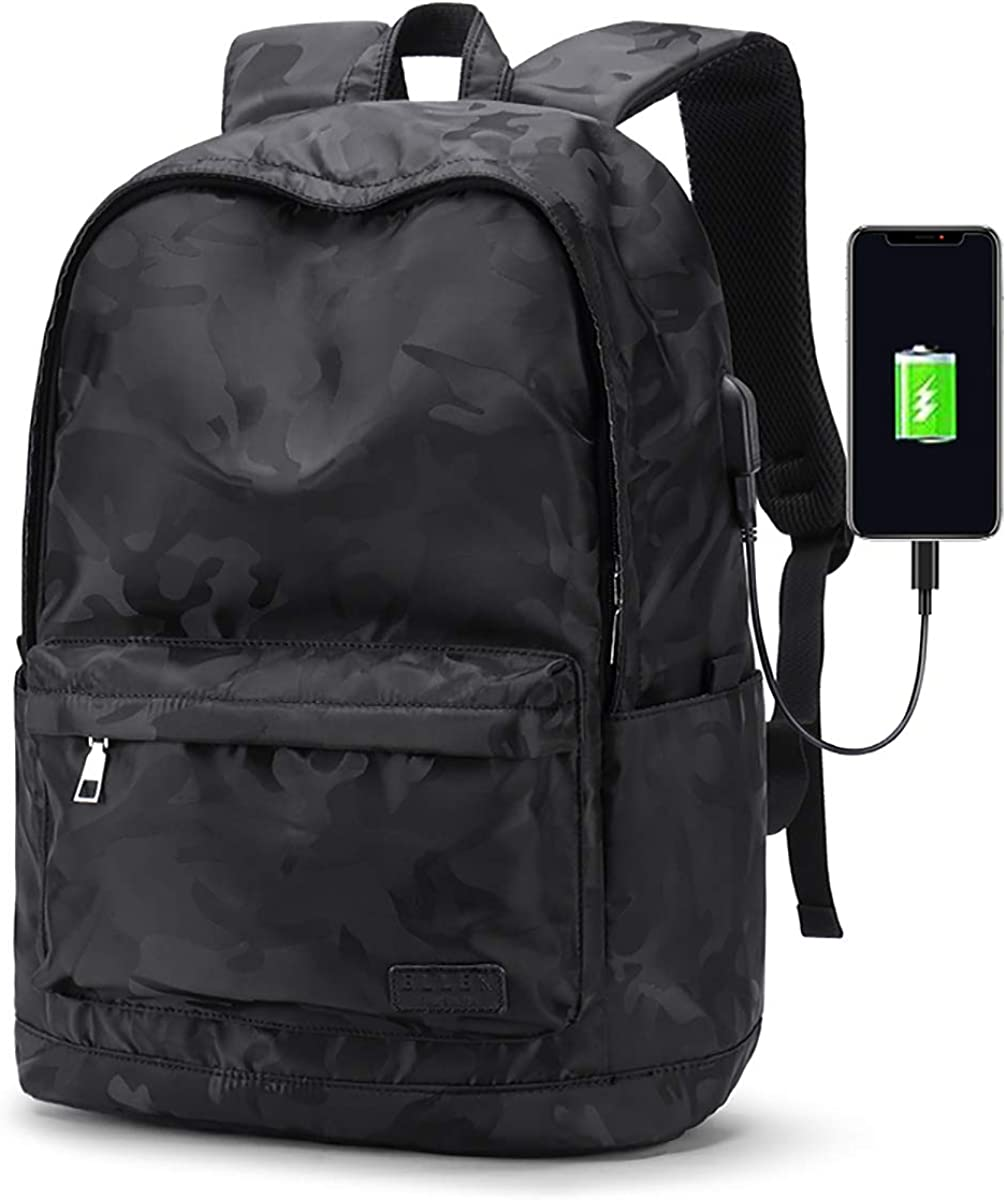 Travel Laptop Backpack 15.6 in for Men Business Durable with USB ChargingPort