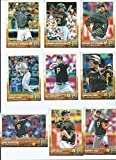 Pittsburgh Pirates 2015 Topps MLB Baseball Regular Issue Complete Mint 23 Card Team Set with Andrew McCutchen, Gerrit Cole Plus